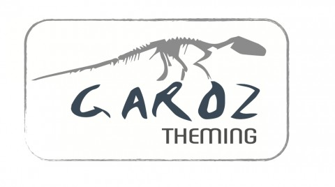 LOGO GAROZ THEMING
